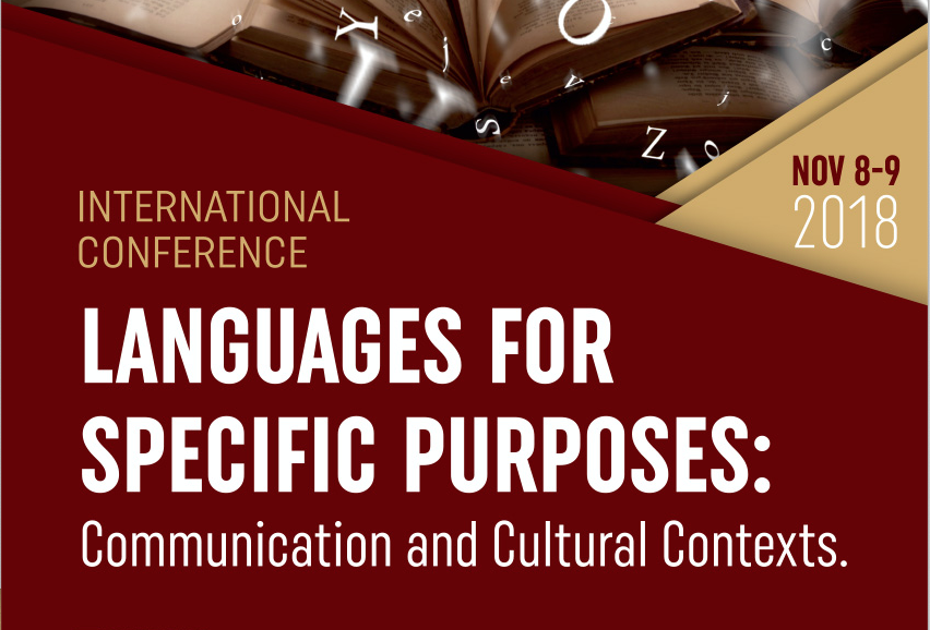 VIR_TEACH was presented at the 4th joint International Conference on Language for Specific Purposes